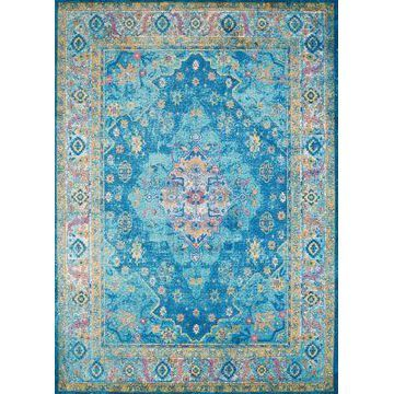 United Weavers Rhapsody Bromley Tufted 9' x 12' Area Rug in Cerulean