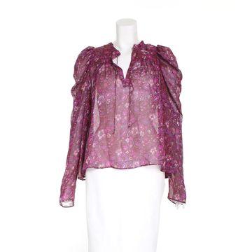 Ulla Johnson Purple Silk Tops