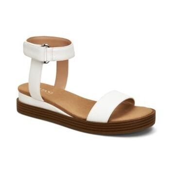 Alfani Women's Step 'N Flex Cherryll Sliver Flatform Wedge Sandals, Created for Macy's Women's Shoes