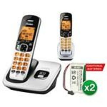 Uniden D1760-2 With additional Battery DECT 6.0 Cordless Phone w/ 1 Ex