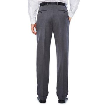 Stafford Travel Wool Blend Stretch Classic Fit Suit Pants