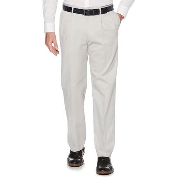 Men's Savane Ultimate Straight-Fit Performance Pleated Chino Pants