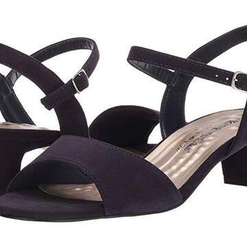 Walking Cradles Lydia (Navy Suede) Women's Shoes