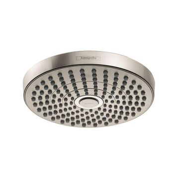 Hansgrohe Croma Brushed Nickel 2-Spray Rain Shower Head 2-GPM (7.6-LPM)   26523821