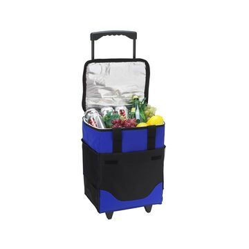 32 Can Collapsible Rolling Insulated Cooler
