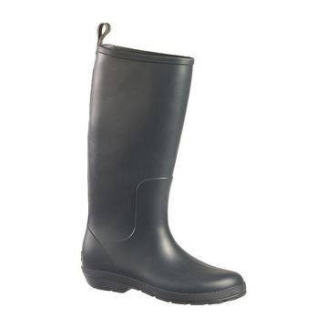 Totes Womens Cirrus Claire Tall Rain Boots Waterproof Flat Heel