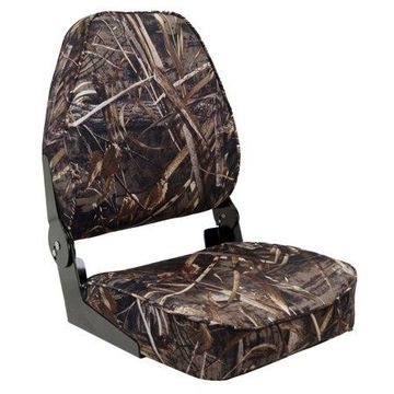 Wise 6000-733 Max 5 Camo Deluxe High Back Seat