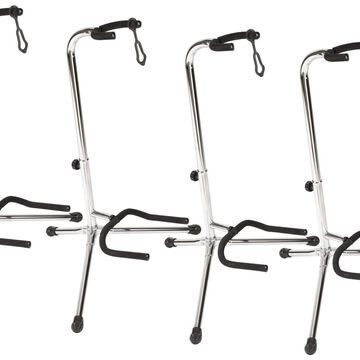 Guitar Stand (4 Pack) Chrome
