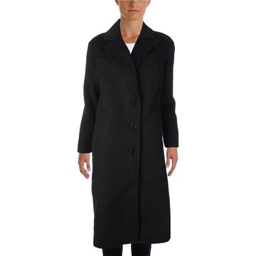 Jones New York Womens Winter Wool Blend Maxi Coat