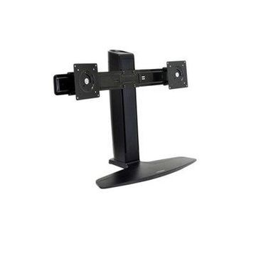 Ergotron Neo-Flex Dual LCD Monitor Lift Stand - Stand for 2 LCD displays - black - screen size: up to 24-inch