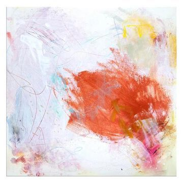 Ready2HangArt 'Sweet Memories' Abstract Canvas Wall Art