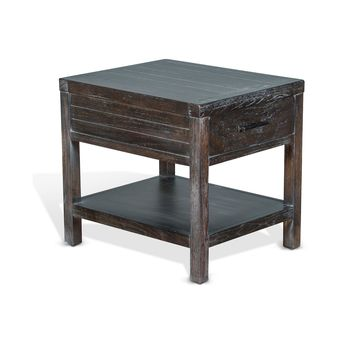 Dundee Kettle Black End Table