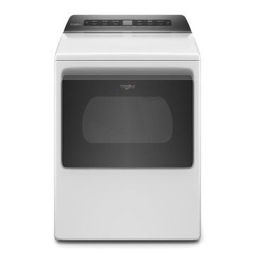 Whirlpool 7.4-cu ft Vented Gas Dryer with Intuitive Controls - White