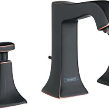 Hansgrohe Metris C Rubbed Bronze 2-Handle Widespread WaterSense Bathroom Sink Faucet with Drain   31073921