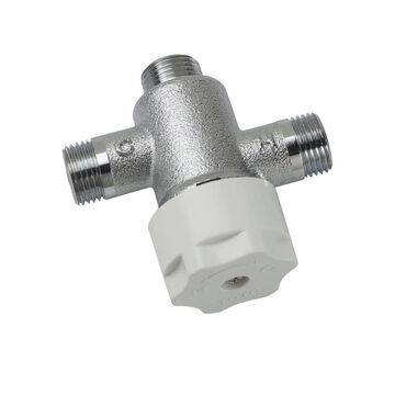 TOTO EcoPower 1/2-in ID Fnpt x 1/2-in OD Fnpt Brass Thermostatic Mixing Valve   TLT10R