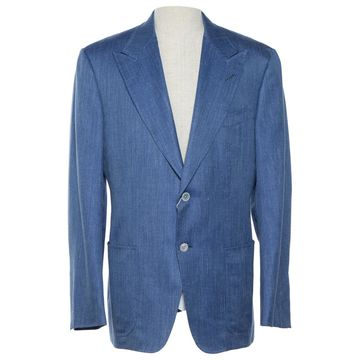 Tom Ford Blue Synthetic Jackets