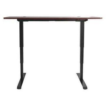 ALERA HT3SAB Adjustable Table,3 Stage,Memory,Black