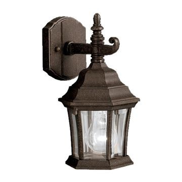 Kichler Townhouse 11.75-in H Tannery Bronze Medium Base (E-26) Outdoor Wall Light