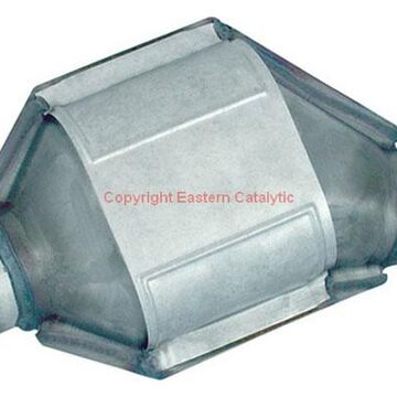 Eastern Catalytic Universal Catalytic Converters (50-State Legal), Front Passenger Side Unit
