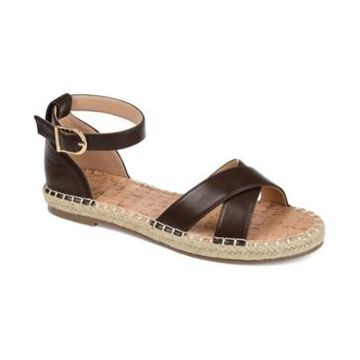 Journee Collection Women's Lyddia Espadrille Sandals Women's Shoes