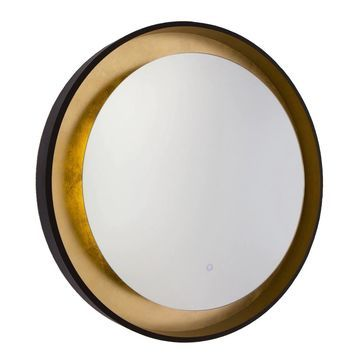 Artcraft Lighting Reflections Collection Bronze/Gold Leaf LED Mirror