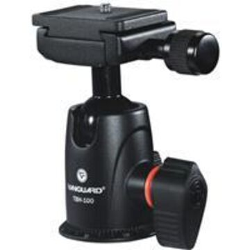 Vanguard TBH-100 Ball Head with Quick Release, Supports 22 lbs.