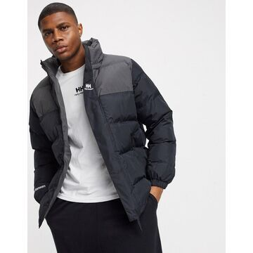 Helly Hansen young Urban puffer jacket in black
