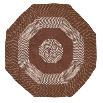 Better Trends Newport Braided Octagonal Rug - 4'