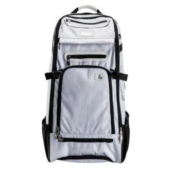 Franklin Sports Mlb Traveler Elite Chrome Equipment Baseball Bag