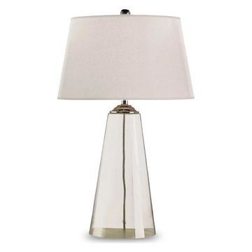 Currey and Company 6370 Atlantis Table Lamp - Silver