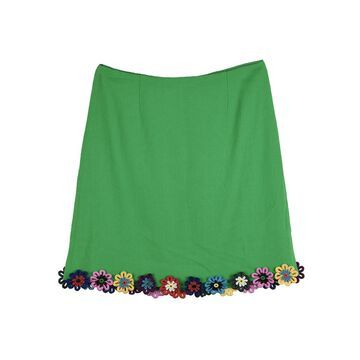 Mary Katrantzou Green Wool Skirts