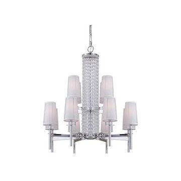 Designers Fountain 839812 Candence 12 Light Up Lighting Chandelier
