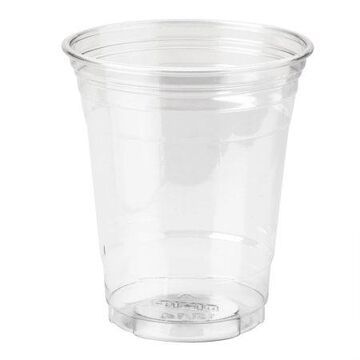 Dixie (CP12DX) 12 oz. Plastic Cold Cups by GP PRO (Georgia-Pacific), Clear, 20 Sleeves of 25 Cups (500 Cups Total)
