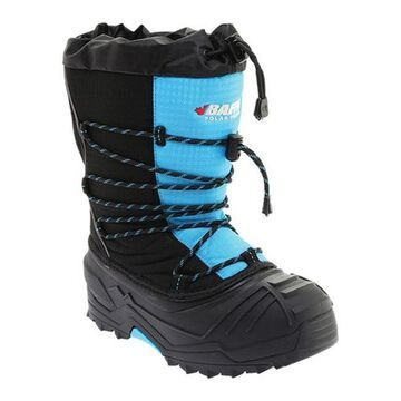 Baffin Children's Young Snogoose Snow Boot Black/Electric Blue