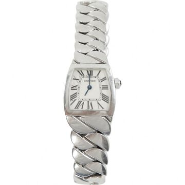 Cartier Dona Silver Steel Watches