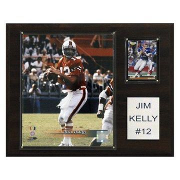 C&I Collectables NCAA Football 12x15 Jim Kelly Miami Hurricanes Player Plaque