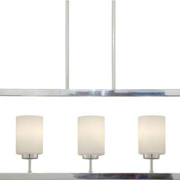 Forte Lighting 2531-03 3 Light Linear Chandelier