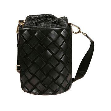 Furla Lipari Woven Bucket Bag