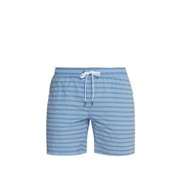 Onia - Charles Striped Swim Shorts - Mens - Blue