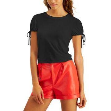 Bar Iii Tie-Sleeve Top, Created for Macy's