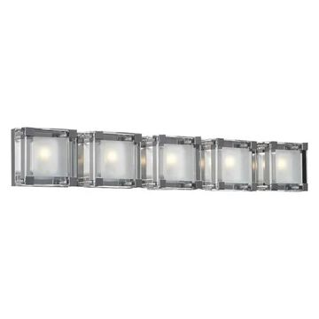 PLC Lighting 5-Light Vanity Corteo Collection 18145 PC
