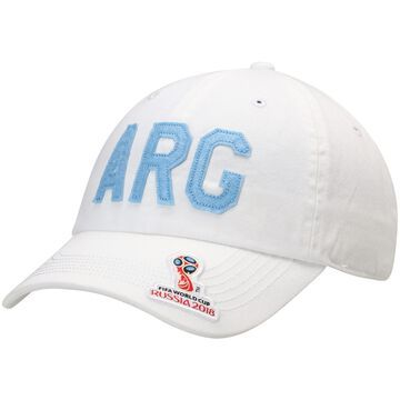 Argentina National Team Top of the World Team District FIFA World Cup Adjustable Hat - White