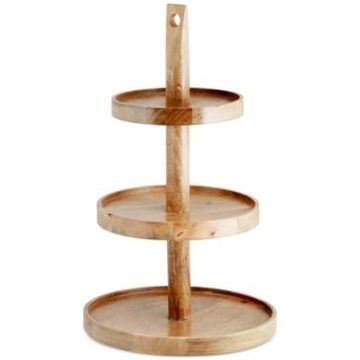 Thirstystone Wood 3 Tier Stand
