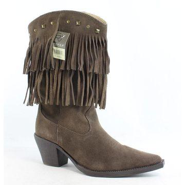 Roper Womens Short Stuff Brown Fashion Boots Size 6.5