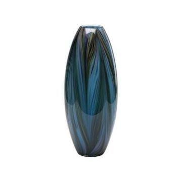 Cyan Design Feather Vase - Blue