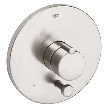 Grohe Tenso Pressure Balance Valve Trim with Diverter, Brushed Nickel