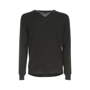Drumohr Wool V Neck L/s Sweater
