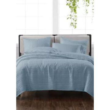 Cannon Heritage Solid Quilt Set - -
