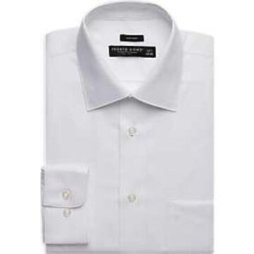 Pronto Uomo White Mini Dot Dress Shirt