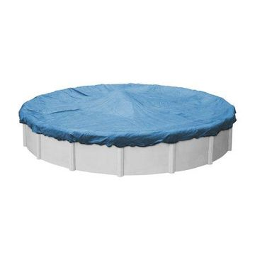 Robelle 10-Year Blue Mesh Round Winter Pool Cover, 24 ft. Pool